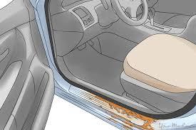 car door jamb. Image Showing Rust Inside Of The Door Jamb Car