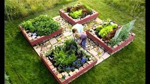 Small Picture Garden Ideas raised bed vegetable gardening YouTube