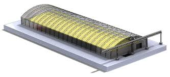 Grain Unloading Pit Design Automatic Loading And Unloading Storage System