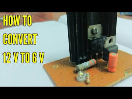 how to convert <b>12v</b> to <b>6v</b> - YouTube
