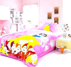 princess bedding set full twin snow white comforter tiana bedd