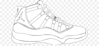 Colouring Pages Nike Air Max Air Jordan Coloring Book Shoe Drawing