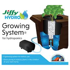 jiffy hydroponic growing system for young and plants 140295 rona
