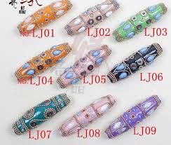 17MM*60MM Cloisonne Loose <b>Beads</b> Metal <b>Europe</b> Pirate <b>Spacer</b> ...