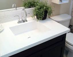 cultured marble vs corian vs quartz vs