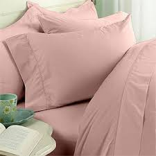 blush sheets queen amazon com blush plain solid queen size bed sheet set 1000