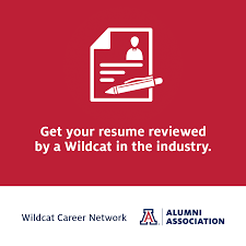 Resume Review Wildcat Career Network Sample Messaging To Advisees UA Alumni 39