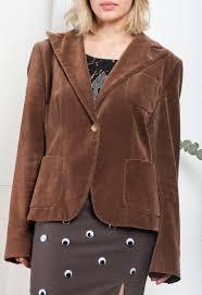 max mara velvet jacket 90s vintage blazer