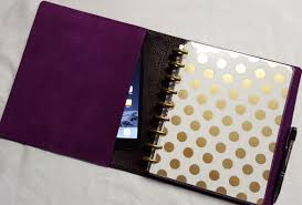 Single Wrap Leather Discbound Notebook Happy Planner Cover