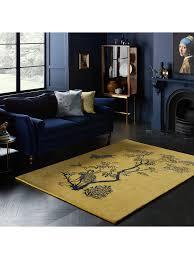 Wendy Morrison for John Lewis Stork Rug, L240 x W170cm, Yellow at John  Lewis & Partners