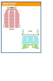 capitol theatre salt lake city seating chart