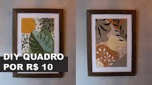 """A dúvida """"como vender no elo7"""" Como Fazer Quadro Decorativo De Baixo Custo E Com Cara De Loja De Decoracao Youtube"""
