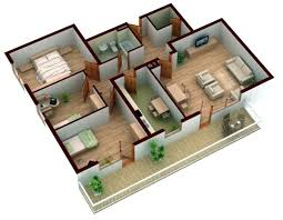With more rooms Room Planner - free 3D room planner