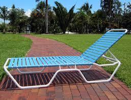 C 120 Aluminum Outdoor Chaise Lounge