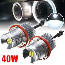 Why Do My Led Lights Interfere With My Radio 2x 40w Led Angel Eyes Marker Light Bulb Error Free Fit For