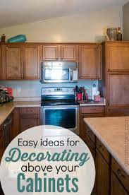 Above Cabinet Decor Ideas For Decorating Above Your Cabinets A Moms Take