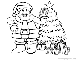 Small Picture Free Printable Santa Claus Coloring Pages For Kids In Santa Claus