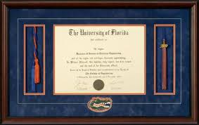 products archive talking walls university of florida diploma frame honor cords tassel opening gators head logo