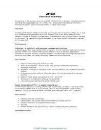 Exec Summary Example Special Exec Summary Example Executive Summary Examples Commonpenc 1