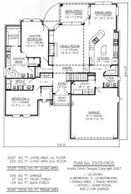 one story house plans without garage 1 3 car 2 bed room narrow inspirational design one