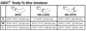 Arm Sleeve Size Chart Geri Sleeve Size Chart Best Picture Of Chart Anyimage Org