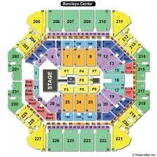 Barclays Arena Seating Chart Studious Barclays Center Brooklyn Concert Seating Chart
