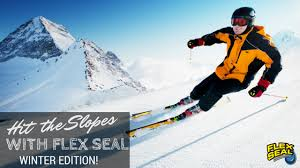 winter sports edition hit the slopes with flex seal