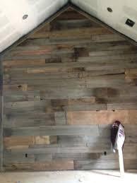 barnwood wall accent bedroom