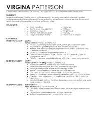 Busser Resume Example Top Resume Busser Resume Sample Resume