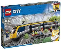 Купить <b>конструктор Lego City Trains</b>: Пассажирский поезд (60197 ...