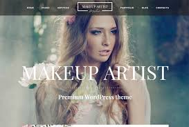 a wordpress theme crafted for promoting the services of a makeup and makeover artist hairdresser stylist nail design specialist or any other expert who