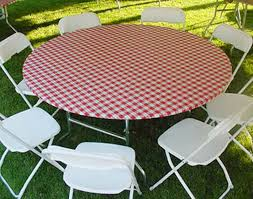 round picnic table with umbrella boundless ideas