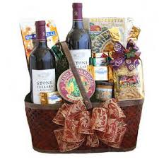 napa valley red wine gift basket
