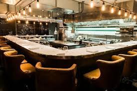 restaurant open kitchen concept. Kitchen Table In London\u0027s Soho Restaurant Open Kitchen Concept O
