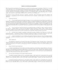 Contract Service Agreement Fascinating Contract Template For Consulting Services Canada Sample Agreement