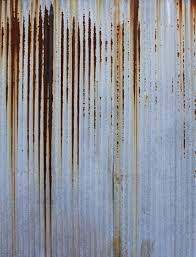 rusty corrugated metal texture 2