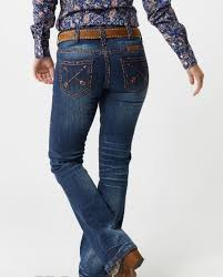 Tuff Jeans Size Chart Cowgirl Tuff Ladies Peace Serenity Bootcut Jeans