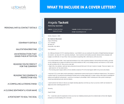 What To Include In A Cover Letter What Goes Where