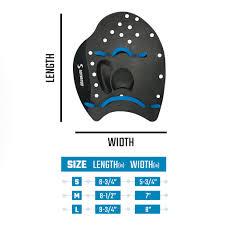 Tyr Catalyst 2 Training Paddles Size Chart Swim Paddles Size Chart About Foto Swim 2019