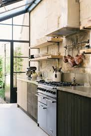 kitchen modern rustic. A Cook\u0027s Kitchen That Combines Modern Rustic Aesthetic With Industrial Style