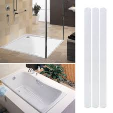 12x safe t strips clear non slip safety applique mat stickers bath tub shower 8884161552248