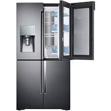refrigerator black. samsung 22 cf 4-door flex refrigerator -black stainless black