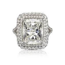 Big Bling Zircon Stone Rings for Women Engagement Wedding <b>925</b> ...
