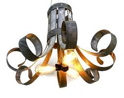 wine barrel lighting. bloom fleur wine barrel ring chandelier starting at 40000 lighting