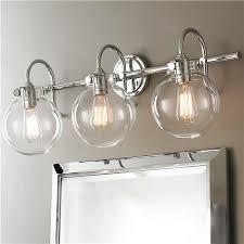 unusual bathroom lighting. beautiful unusual attractive clear glass bathroom vanity lights allen roth 3 light vallymede  brushed nickel intended unusual lighting e