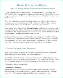 Format For Minutes Writing Meeting Minutes Format Template Allthingsproperty Info