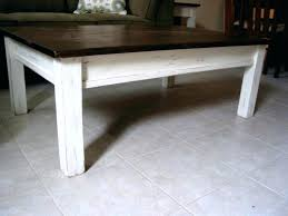 end white coffee table large distressed off and tables blue small weathered ana rustic farmhouse