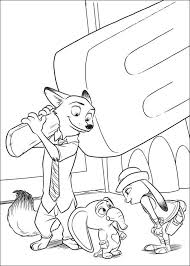 Zootopia Coloring Pages 24 Coloring Ausmalbilder Disney