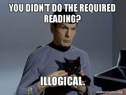 Spock Reading Meme