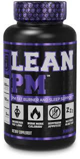 lean pm night time fat burner sleep aid supplement ap suppressant for men